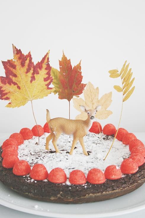 Le gâteau automnale de Coco
