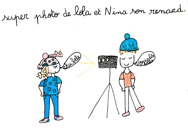 Les dessins de Léa