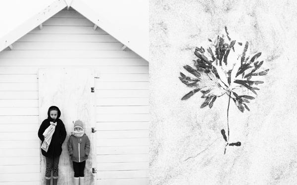 le printemps en noir et blanc