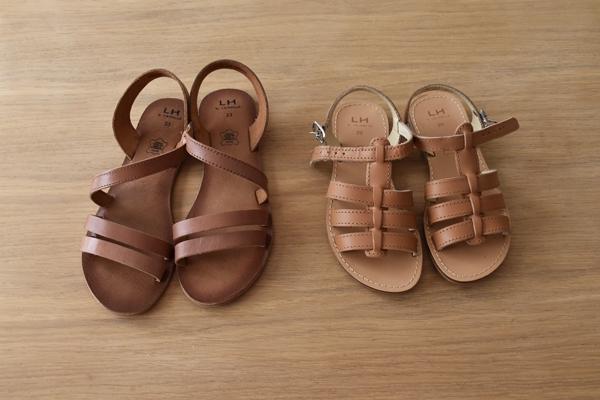 sandalettes filles