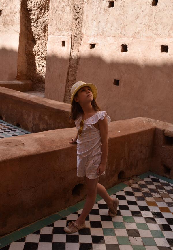 Marrakech jour 1 ° Palais El Badi