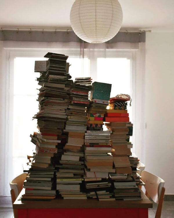 livres en pagaille